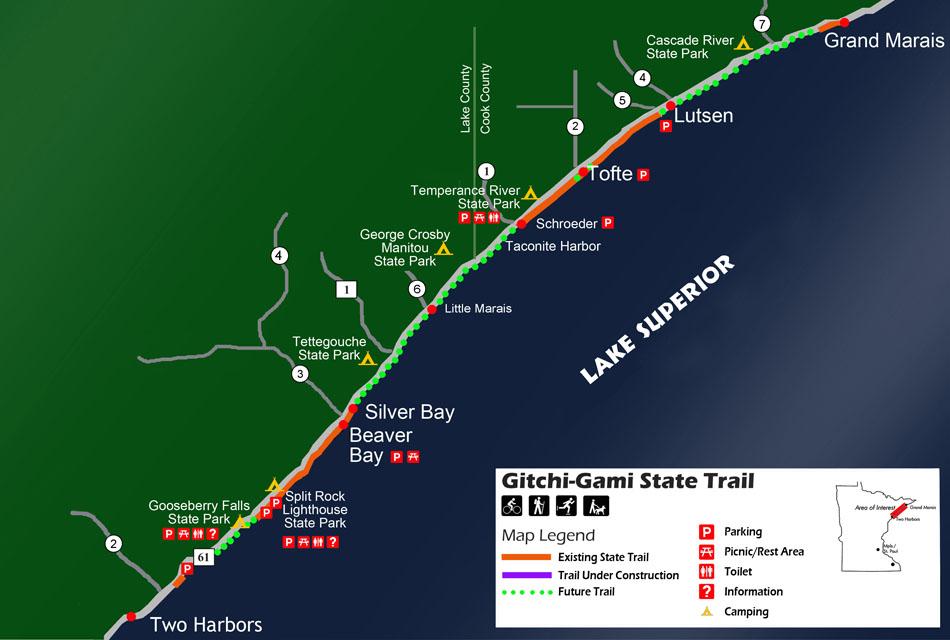 GitchiGami State Trail