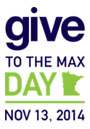 Give to the Max Day - Nov. 13